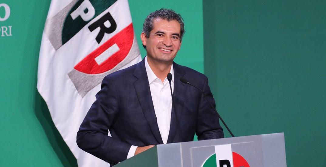 Resultado de imagen para Enrique Ochoa Reza, presidente del CEN del PRI.