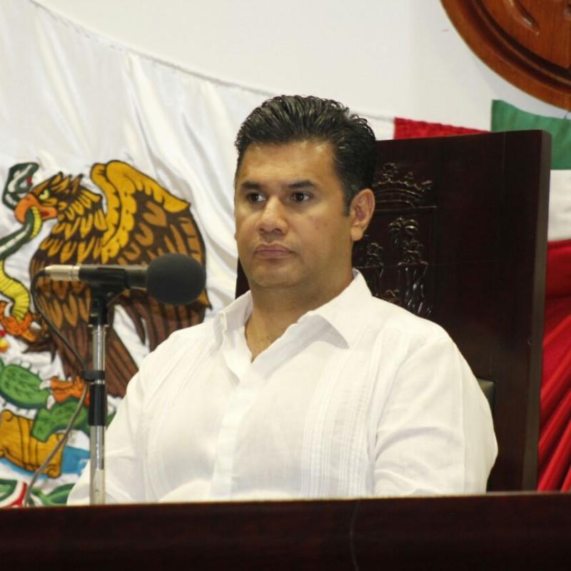 Diputado Willy Ochoa Gallegos, presidente del Congreso de Chiapas