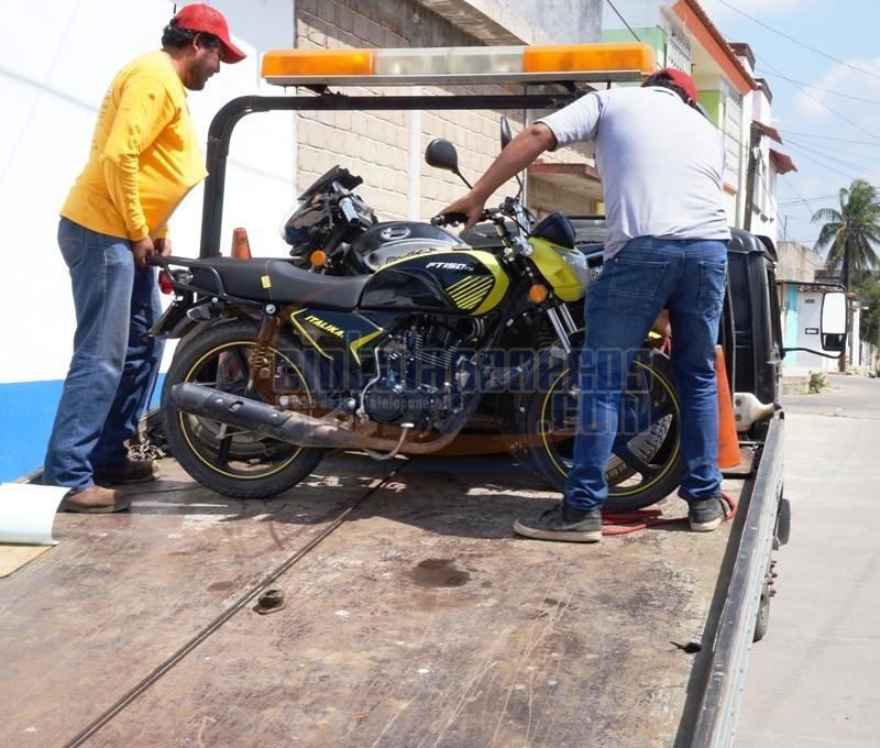 las-motos-irregulares-fueron-llevadas-al-corralon-de-gruas-armendariz
