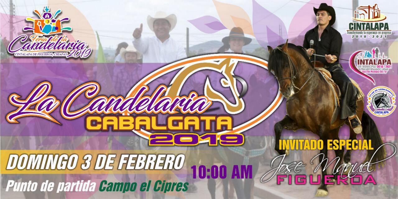 Cabalgata Cintalapa, Chiapas 2019, en honor a la Virgen de Candelaria