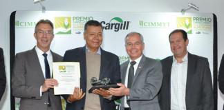 Entregan Cargill y CIMMYT premio que busca potenciar la Seguridad Alimentaria y la Sustentabilidad