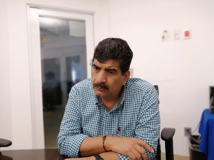 Isaías Alfaro Castellanos, presidente del Centro Empresarial de Chiapas