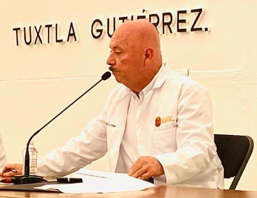 José Manuel Cruz Castellanos, Secretario de Salud en Chiapas