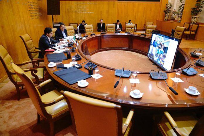 Primera reunión virtual del H. Consejo Técnico del Instituto Mexicano del Seguro Social