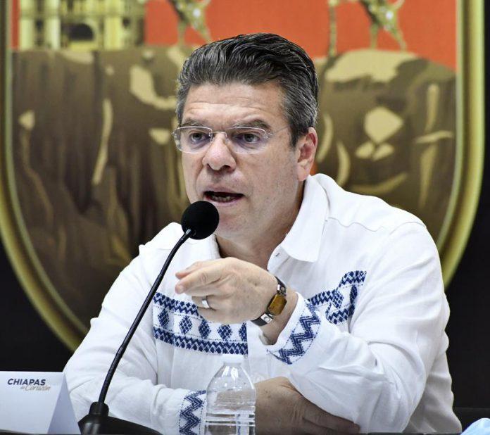 El secretario general de Gobierno, Ismael Brito Mazariegos