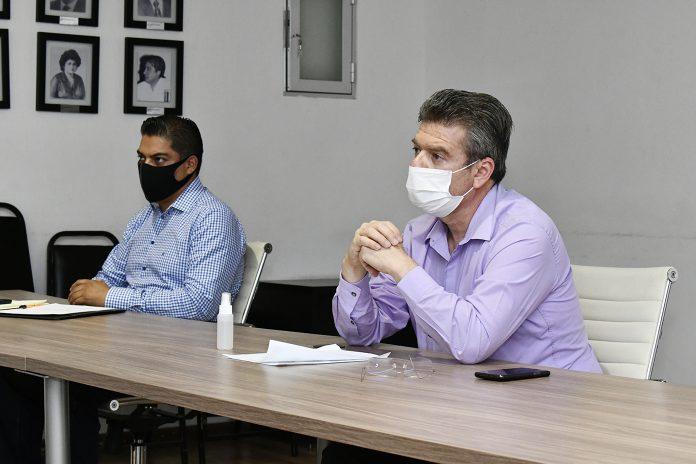 """""""Hoy este gobierno lo que quiere es que haya suficiente información de prevención, y que las autoridades municipales cumplan con todas las recomendaciones, sugerencias y protocolos, para garantizar la salud de las y los ciudadanos"""", afirmó."""